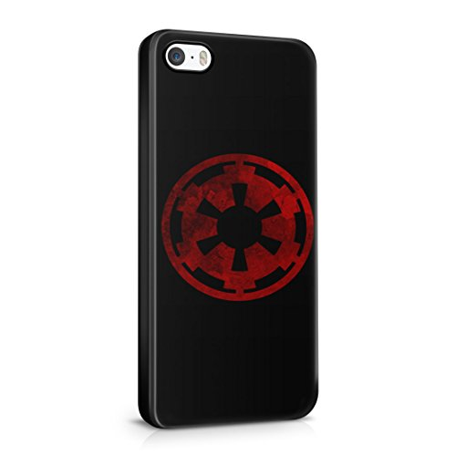 Star Wars Galactic Empire Grunge Logo iPhone 5 / 5S Hard Plastic Phone Case Cover