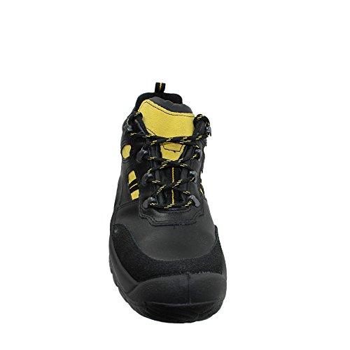 Jal group s3 chaussures de travail chaussures chaussures berufsschuhe businessschuhe plat noir Noir - Noir