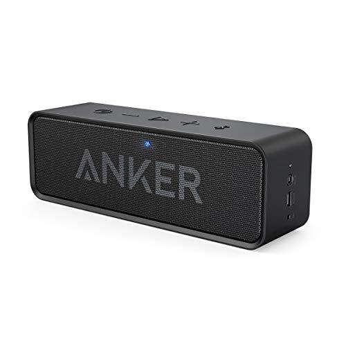 ler Bluetooth 4.0 Lautsprecher, unglaubliche 24-Stunden-Akkulaufzeit, Dual-Treiber Wireless Speaker mit reinem Bass und eingebautem Mikrofon(Schwarz)(Zertifiziert generalüberholt) ()