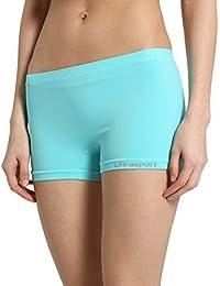 Ultrasport Damen Funktions-Sport Hot Pants Hipster: als Sport Shorts, bequeme Hotpants, Unterwäsche für Frauen, mit leichtem Figur formenden Effekt