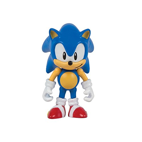"Image of Sonic the Hedgehog T22050 3-Inch ""25th Anniversary"" Action Figure with Collectable Coins/Sonic/Knuckles and Tails"