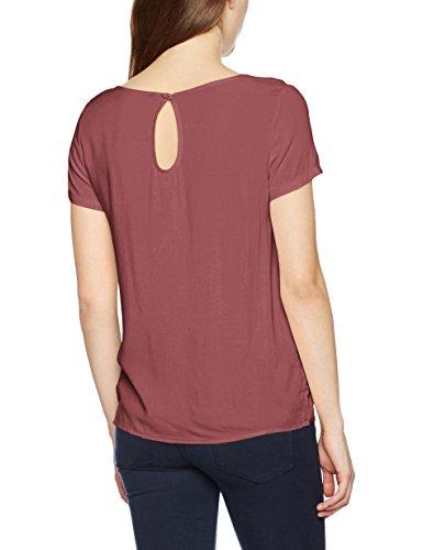 Only Onlfirst Ss Top Noos Wvn, T-Shirt Femme Violet (Wild Ginger)
