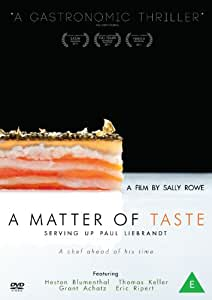 A Matter of Taste: Serving Up Paul Liebrandt [DVD]
