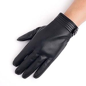 Unbekannt XIAOYAN Handschuhe Herren Radhandschuhe Windproof Touchscreen kompatibel Vollfinger Bequem