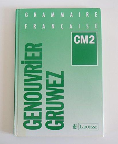 Grammaire française, CM2