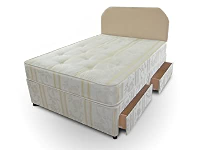Joseph Luxury Divan Bed Including Mattress And 2 Drawer Storage, 4ft Small Double - low-cost UK light store.