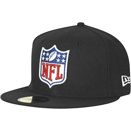 New Era 59Fifty Fitted Cap - NFL Shield Logo schwarz - 7 3/4