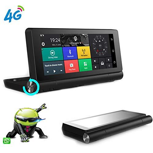 Proprietäre Stromversorgung (LIDAUTO Auto Fahren Recorder 1080P Video HD 7 Zoll Display 4G Netzwerk Nachtsichtkamera Auto Digital Dual Lens)