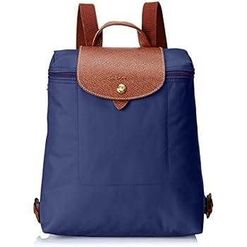 c6d682c3a8 Longchamp Le Pliage Backpack, Portés dos femme - bleu - bleu marine,  23x40x55 cm (B x H x T)