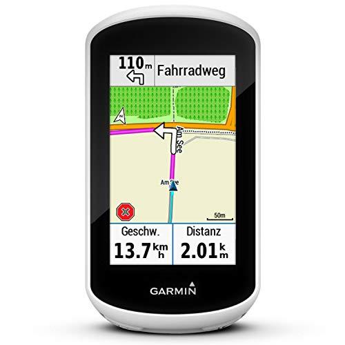 Garmin Unisex– Erwachsene Edge Explore GPS-fahrradcomputer, weiß/Schwarz, One Size