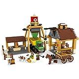 ausini - Juego de construcción: Granja, 615 piezas (Colorbaby 42844)