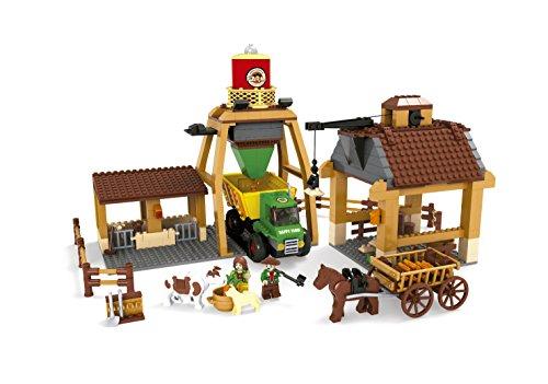 Ausini - Juego de construcción Granja con tolva - 615 piezas (ColorBaby 42844)