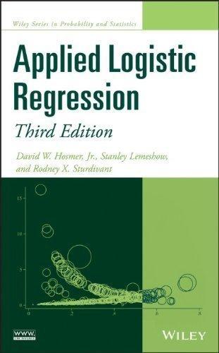 Applied Logistic Regression (Wiley Series in Probability and Statistics) by Hosmer Jr., David W., Lemeshow, Stanley, Sturdivant, Rodney ( 2013 )