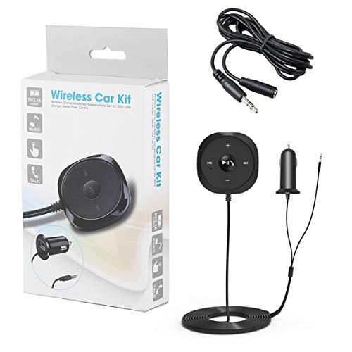Noradtjcca USB2.0 Wireless Car Adapter Kit Freisprechen Car Audio Receiver Eingebautes Mikrofon Musik Controller Stereo Sound -