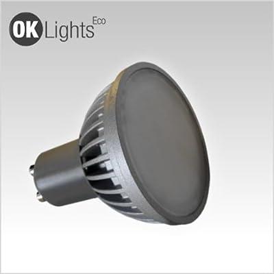 Asuntec Profi-LED-Quality-Longlife-Breitstrahler GU10; 5Watt; warmweiß-matt-blendungsarm; LED-Abstrahlwinkel 90°, mit Swiss Quality Check, (Ersatz 50W Halogenspot) von Asuntec bei Lampenhans.de