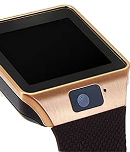 MIRZA DZ09 Bluetooth Smart Wrist Watch for OPPO F1 (Bluetooth DZ09 Smart Watch Wrist Watch Phone with Camera & SIM Card Support Hot Fashion New Arrival Best Selling Premium Quality Lowest Price with Apps like Facebook, Whatsapp, Twitter, Sports, Health, Pedometer, Sedentary Remind & Sleep Monitoring, Better Display, Loud Speaker, Microphone, Touch Screen, Multi-Language, Compatible with Android iOS Mobile Tablet-Silver Color)