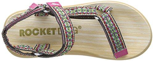Rocket Dog Surfside, Sandali donna (Multicolor (Natural/Multi Raindance))