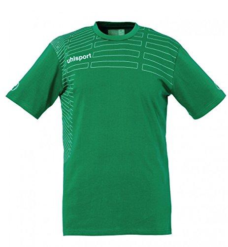 uhlsport Herren Match Training T-Shirt lagune/weiß