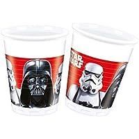 Disney 53858 Star Wars Party Plastic Decoration Cups, 200 ml, 8-Piece