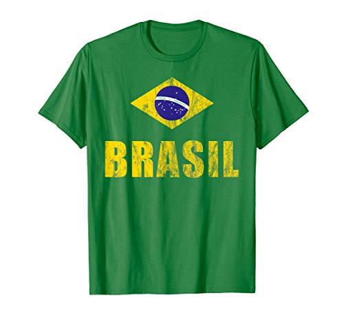 Brasilien | Brasil T-Shirt | Fußball | Samba | Brasilianer -