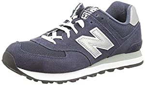 New Balance, Herren Sneaker, Blau (Blue), 43 EU (9 UK)