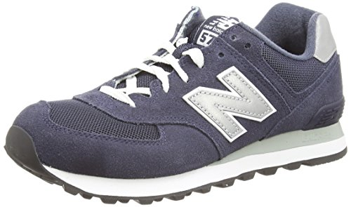 New Balance M574 Unisex-Erwachsene Sneakers, Blau (Blue), 44 EU / 9.5 UK / 10 US
