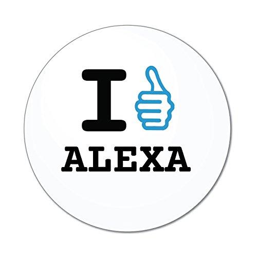 Preisvergleich Produktbild JOllify Aufkleber - ALEXA – Farbe: Design: I like - Ich mag