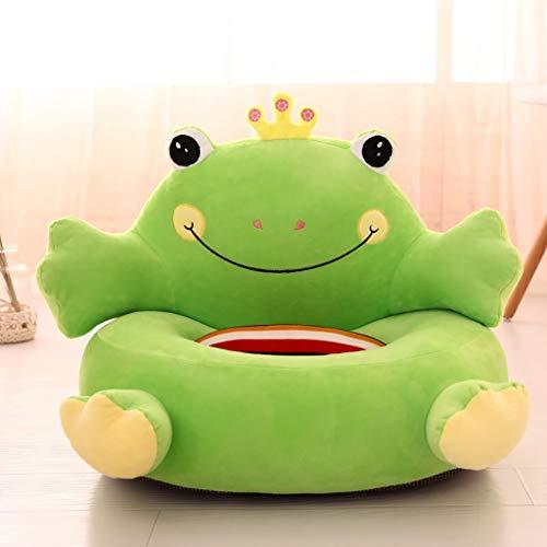 Kinder Spielzeug Kleines Sofa PP Baumwolle Sessel Thema Frosch für 1-5 Jahre Alt Junge Mädchen 40×40cm -