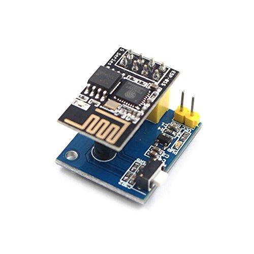 ESP8266 ESP-01 / 01S DS18B20 Temperatur Luftfeuchtigkeit Sensor Modul Wifi NodeMCU Für Arduino Smart Home IOT DIY Kit (Mit ESP-01S) -