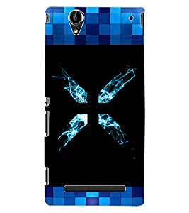 ColourCraft Abstract image Design Back Case Cover for SONY XPERIA T2 ULTRA DUAL D5322