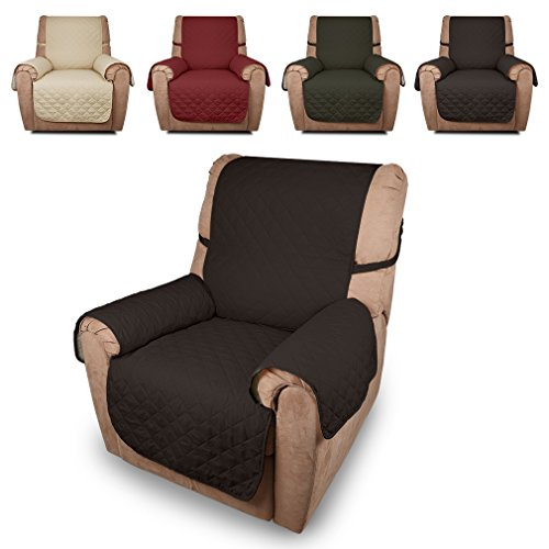 Auralum® Sesselschoner Sesselauflage einzeln Sitzer in Kaffee aus 100{186677f301e66d290afc53a81023e1f9d8a77895f12ed03458a395d4480964d2} Polyester