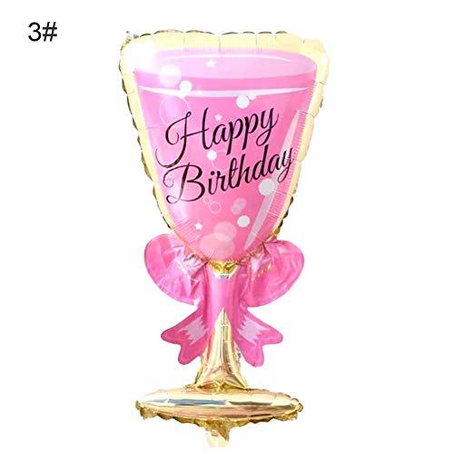 Folienballon Luftballon Bierkrug Party Deko, Geburtstag Luftballons Bunt, Weihnachten