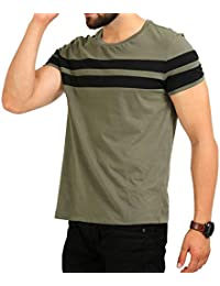 BYC Men's Half Sleeve Line Up Tshirt Mens/Tshirt Mens/Mens Tshirt/Round Neck Tshirt/Casual Tshirt