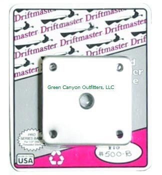 Driftmaster 3-Inch Stainless Steel Pro Flush Base by Driftmaster -