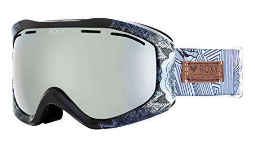 Roxy Damen Sunset Art Series Snowboard Goggles, Crown Blue freezeland, One Size