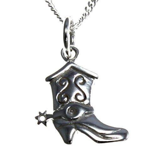 oy Stiefel Anhänger Halskette mit 45,7cm Kette ()