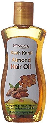 Patanjali Ayurveda Almond Haaröl Verwendung Für Stärkt, glättet, Haare fallen 100ml