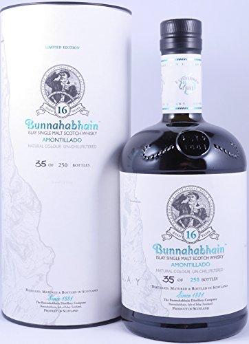 Bunnahabhain 16 Years Feis Ile 2016 Amontillado Limited Edition Islay Single Malt Scotch Whisky 54,1{fc18d3ff4a857ff3ae4c58c17bb0203eff48f322acb06dac56619b410541268a} Vol. - eine von 250 Flaschen