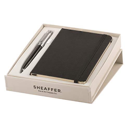 Sheaffer Pen Ballpoint Pen with A6 Note Book (Black)