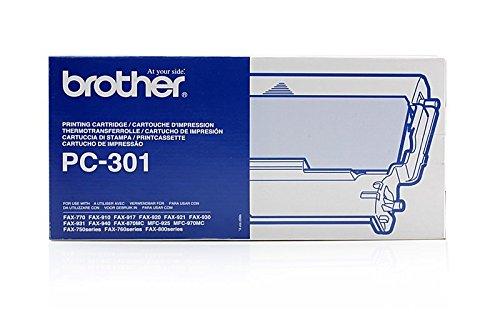 Preisvergleich Produktbild Original Thermo-Transfer-Rollen passend für Brother Fax 910 Brother PC301 - Premium - Schwarz - 230 Seiten