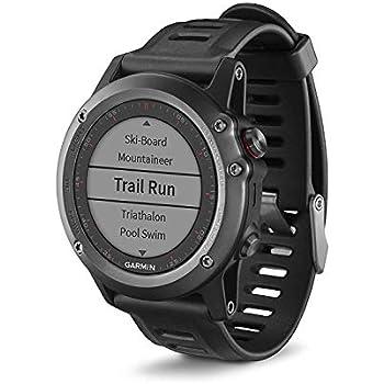Garmin Fénix 3 - Reloj multideporte con GPS, Pantalla 1.2