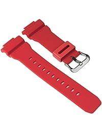 Casio Ersatzband Uhrenarmband Resin Band Rot für G-7900A G-7900RF G-7900 10332099
