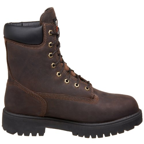 M Marrone Timberland Impermeabile 10 Direct Scuro Pro Workboot Mens 8 Attribuiscono Marrone 44pFCwqO