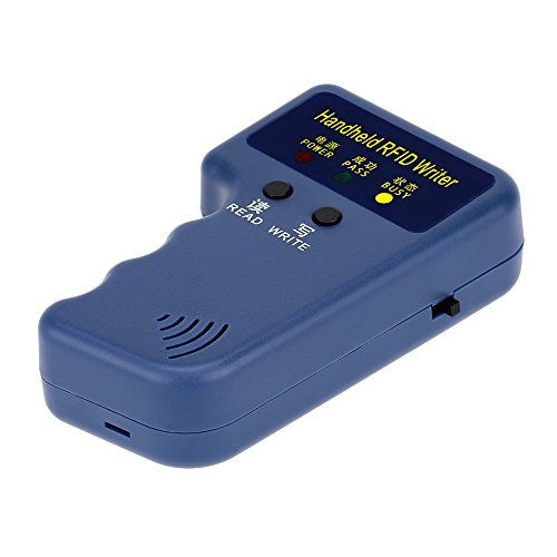 KKmoon Handheld 125KHz RFID ID Card Writer/Copieur Duplicator + 10pcs Écriture T5577 Cartes
