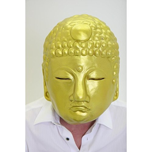 Goldener Buddha Maske aus -