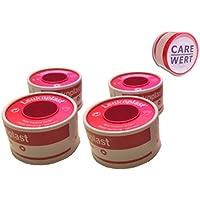 Leukoplast hautfarben mit Schutzring 2,5 cm x 5m 4 Rollen + Care-Wert ® Rollenpflaster 5m x 1,25cm hautfarben... preisvergleich bei billige-tabletten.eu