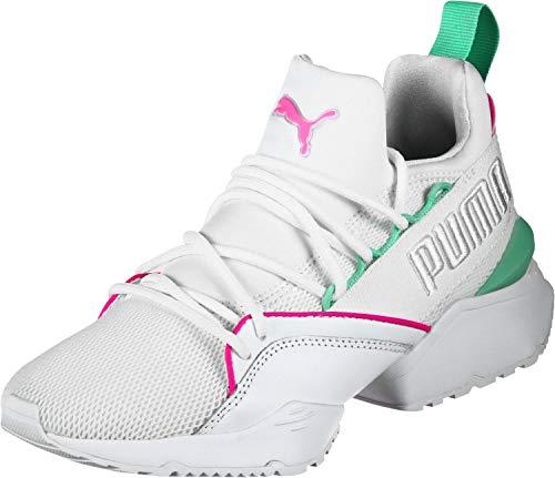 Puma Muse Maia Chase W Calzado White/Pink-Green