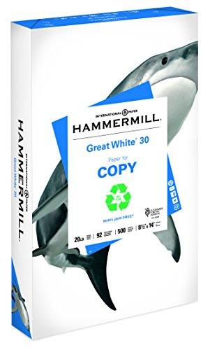 Hammermill Papier Ream Legal weiß (Hammermill-copy Papier)