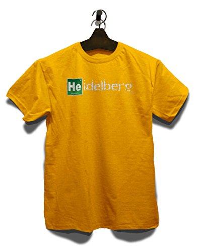 Heidelberg T-Shirt Gelb
