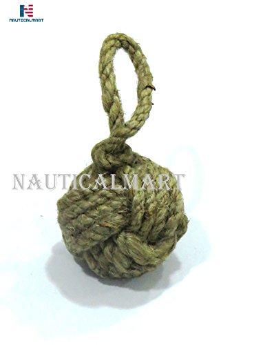 Nauticalmart yute Cuerda Llavero mono nudo clave cadena regalo